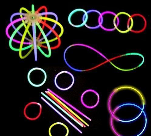 100 varitas luminosas neon fosforecentes para tu evento