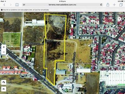 Vendo Terreno En La Providencia Metepec 11,400m2