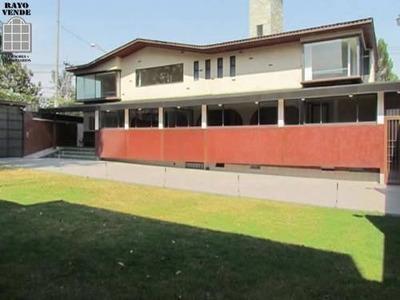 Casa Uso De Suelo En Jardines Del Pedregal De San Ángel, Col