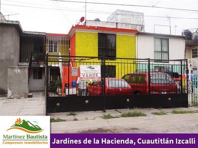 Económica Casa En Venta Jardines De La Hacienda