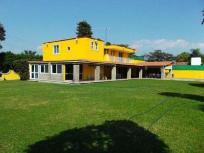 Casa En Venta En Hotel Hacienda Cocoyoc (olc-434)