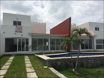 Casa En Club De Golf, Morelos.