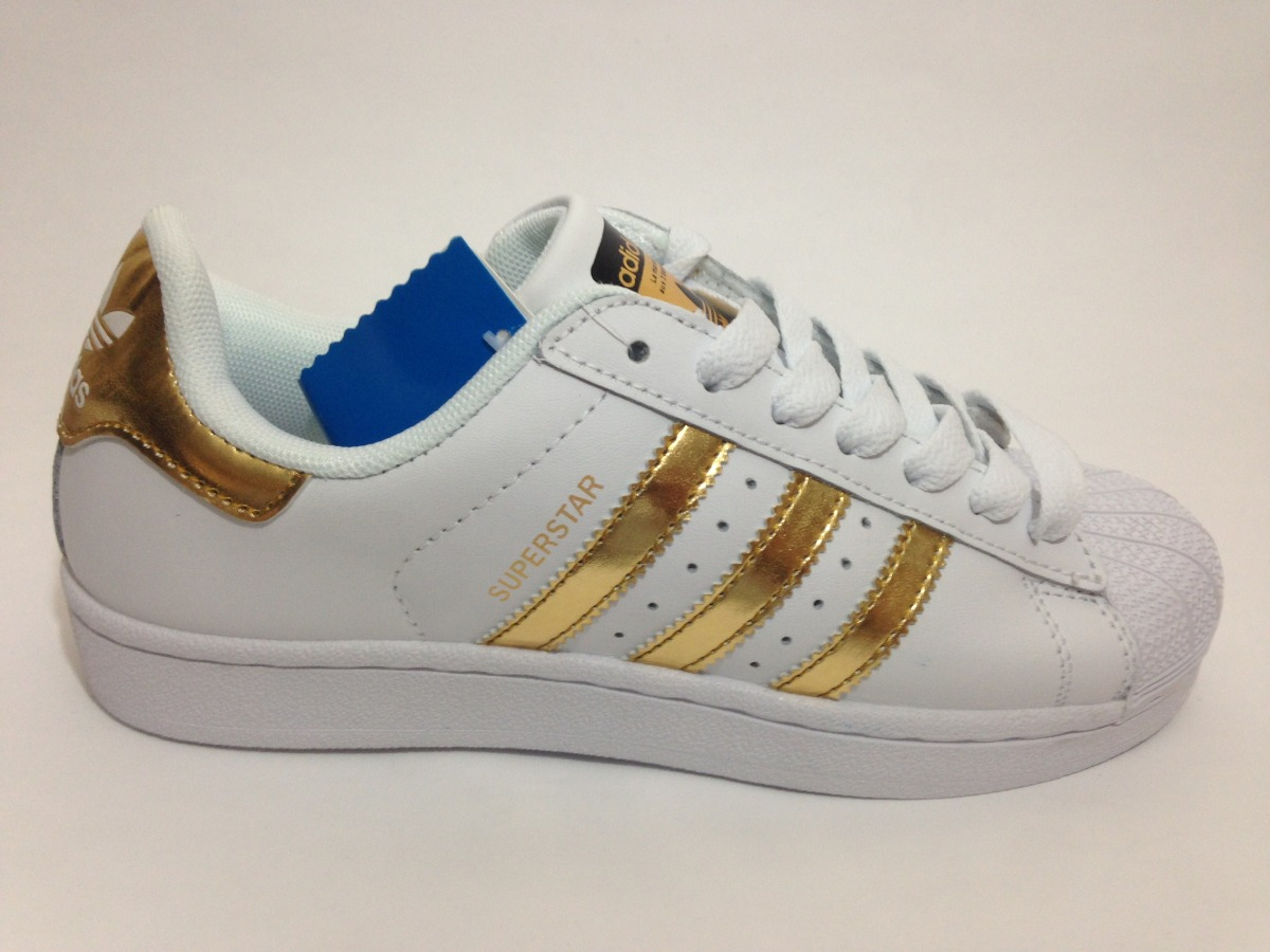adidas superstars doradas