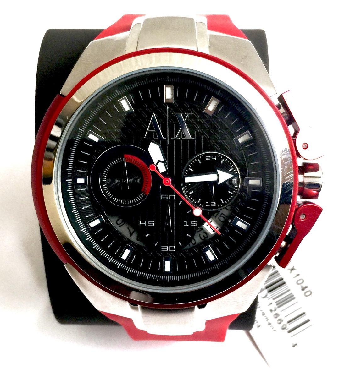 7211677b535d reloj armani exchange rojo
