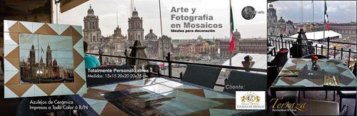 azulejos,mosaicos personaliza impresos fotografía decoración