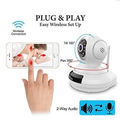baby monitor inal mbrico creaker cable de la c mara de wifi 3 en mercadolibre. Black Bedroom Furniture Sets. Home Design Ideas