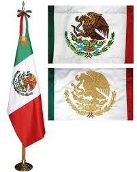 bandera de mexico reglamentaria estampada 1 en
