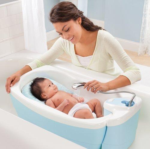 Tinas De Baño Para Bebe:Bañera De Lujo Para Bebe Tina Hidromasaje Spa Summer Infant – $ 1,781