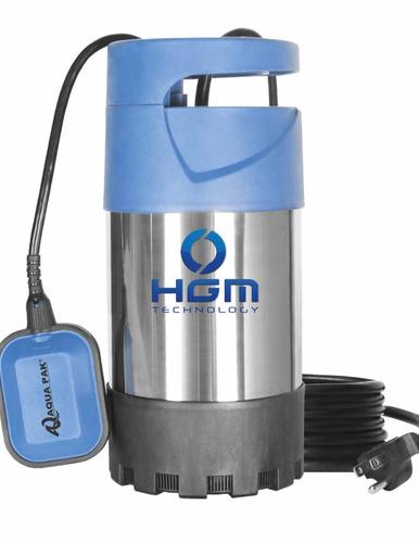 bomba agua sumergible 1.3hp ideal p/subir agua al tinaco hgm