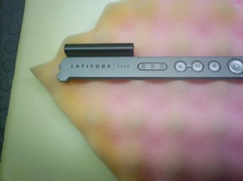 carcasa panel de encendido dell latitude d630 y multimedia