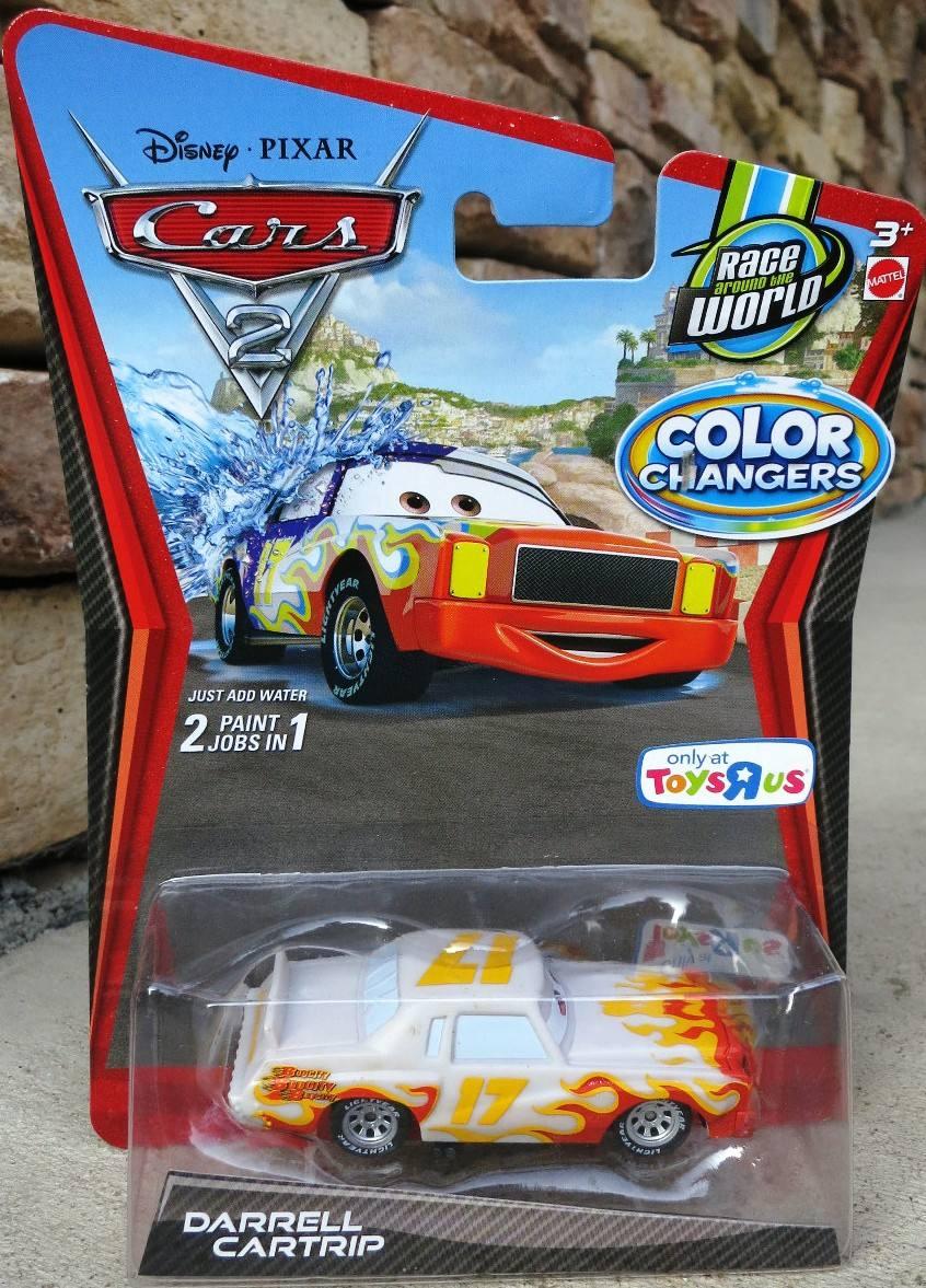 Cars disney darrell cartrip color changers en - Cars en juguetes ...