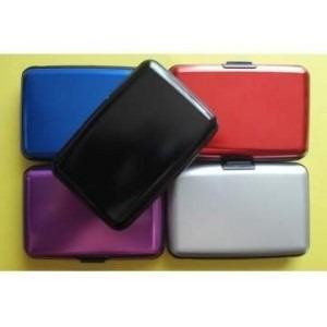 cartera aluma wallet aluminio unisex, como lo viste en tv