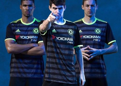 Chelsea Negra 2016-2017 Hazard, Pedro, Oscar - $ 570.00 en ...