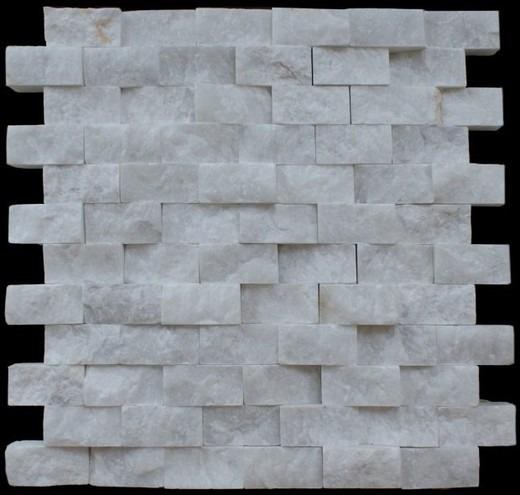 Cintillas de piedra m rmol blanco natural muros - Marmol blanco precio ...