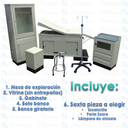 consultorio medico muebles
