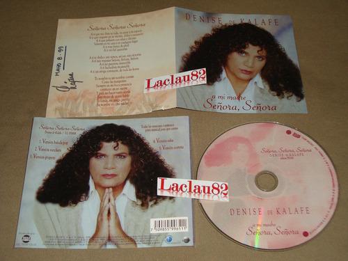 denise de kalafe a mi madre señora señora 1999 deka music cd