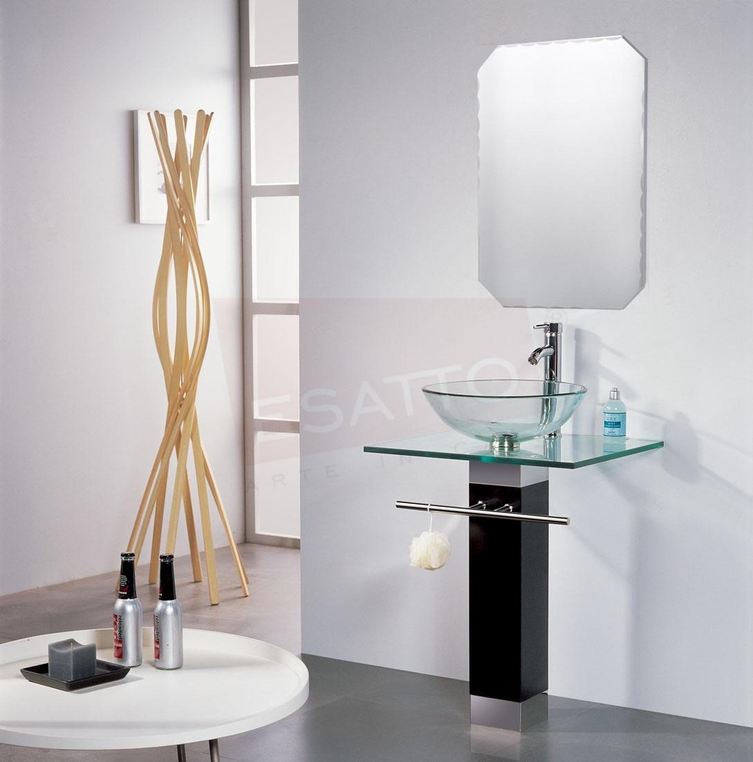 lavabos para bao mercado libre de bao lavabo cristal cromo espejo mv u en mercado lavabos para bao mercado libre
