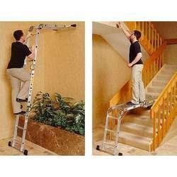 escalera aluminio multiusos 8 escaleras en 1multiposiciones