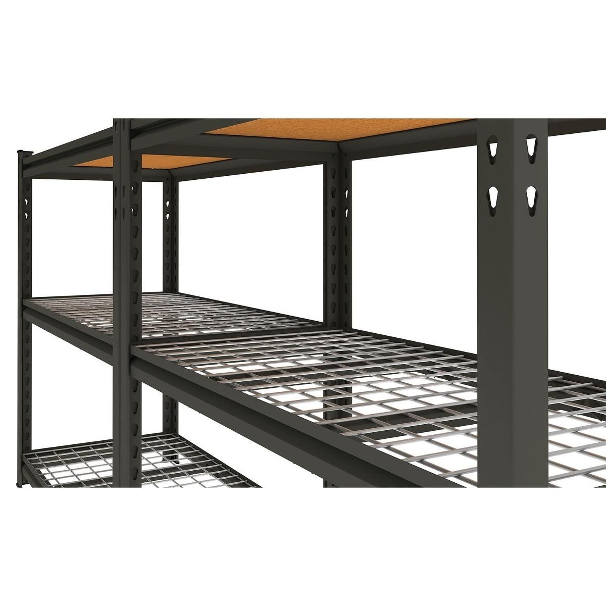 Estante Rack Anaquel 5 Repisas Organizador Garage Taller $ 3 999.00  #9C632F 1200x1200