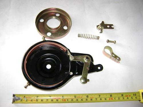 freno de banda tambor para bicicleta,gokart,scooter,invento.