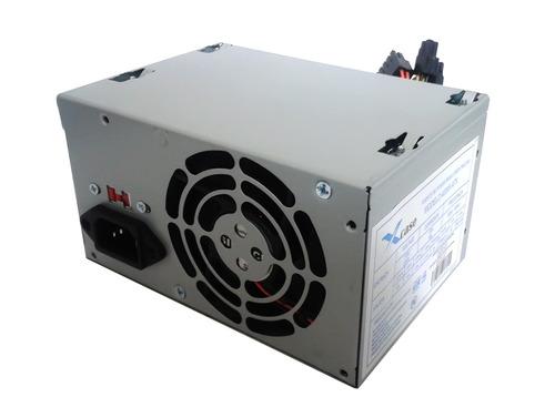 fuente de poder atx 400 watts 20+4 c/cable xcase molex,sata