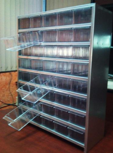 Gabinete organizador cajonera metalico 40 gaveta plastico - Cajoneras pequenas ...