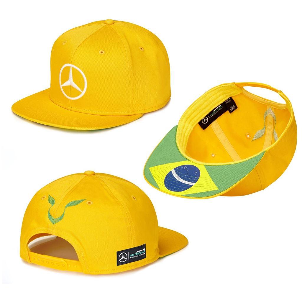 gorra mercedes benz petronas lewis hamilton podium brasil f1 142711  MLM20609451735 022016 F square false aa2656c8f8d