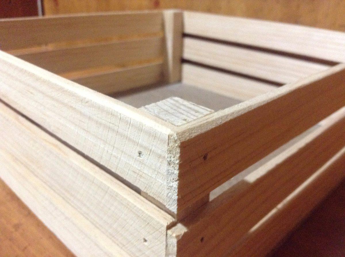 Huacal rejita madera manualidades trabajos escolares 18 - Hacer manualidades con madera ...