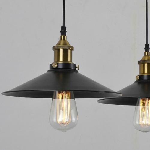 Lampara colgante de techo tipo vintage moderna envio - Tipos de lamparas de techo ...