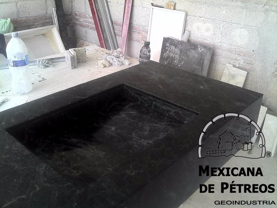 Lavabos Para Baño Mercado Libre:lavabo minimalista de mármol verde tikal para baño