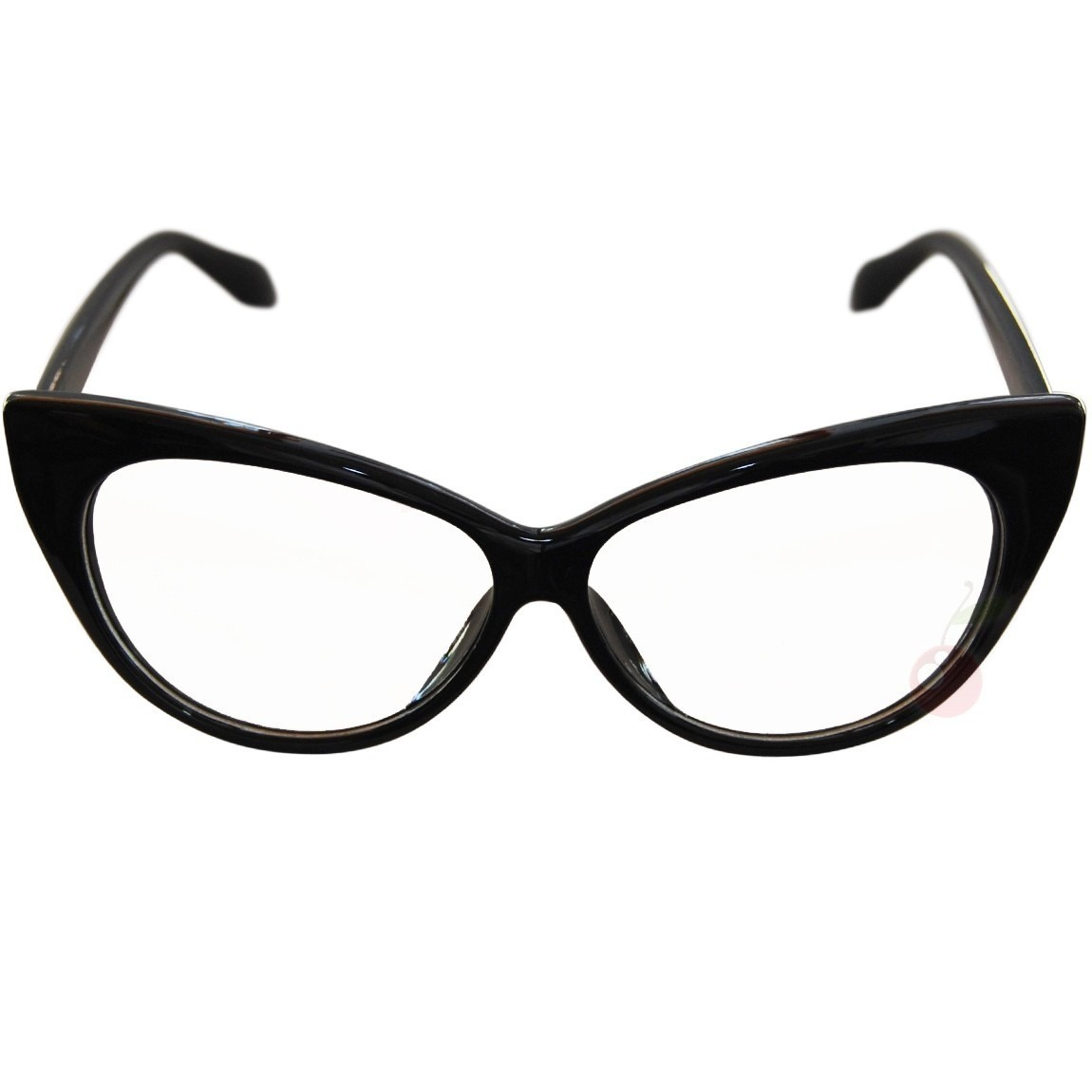 Transparent Cats Eye Glasses Frame