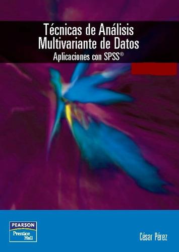 Libro t cnicas de an lisis multivariante de datos for Tecnicas basicas de cocina libro