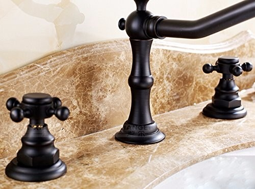 Griferia Para Baño En Mercado Libre: Para Baño Grifo Lavabo Estilo Antiguo Bronce – $ 1,99900 en Mercado