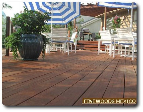 Maderas terraza jardin deck cumaru ipe teca pisos - Terrazas de madera precios ...