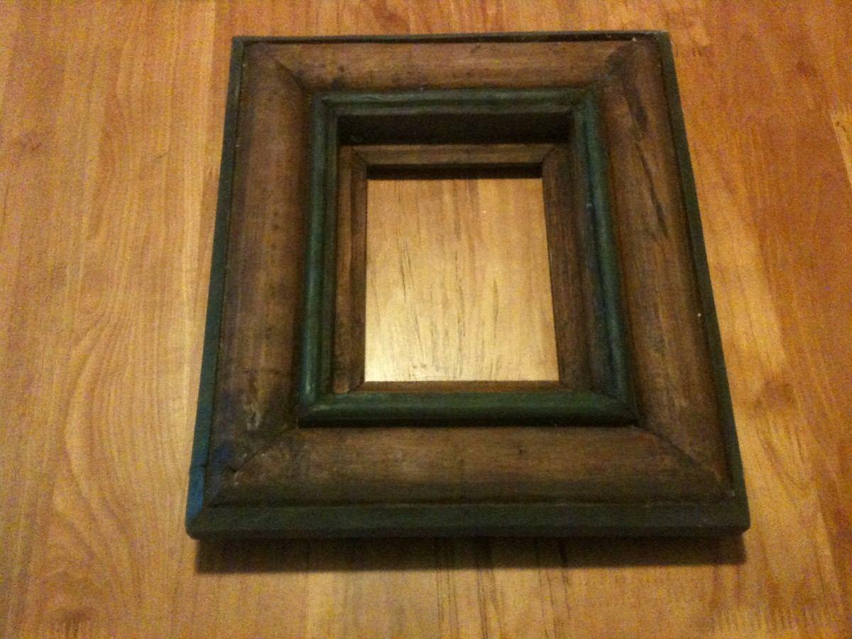 Marco de madera para fotografia o espejo en for Modelos de espejos con marcos de madera