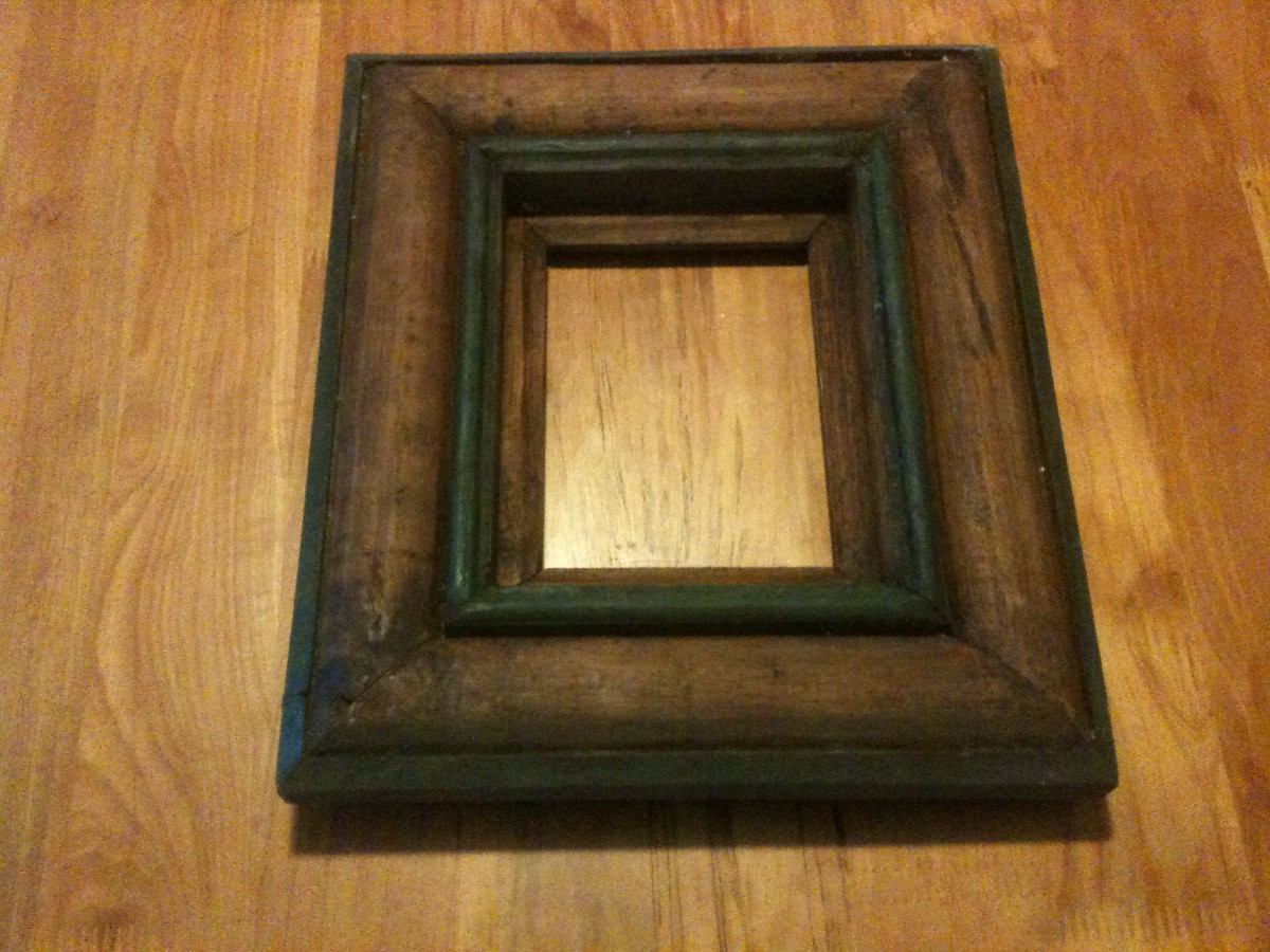 Marco de madera para fotografia o espejo en - Marcos fotos madera ...
