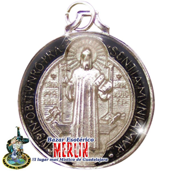 Medalla san benito encapsulada en resina contra maleficios en mercado libre - Lasan guadalajara ...