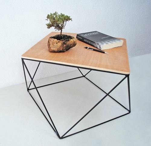 Acero Madera Natural Mueble Diseño Moderno  $ 1,95000 en