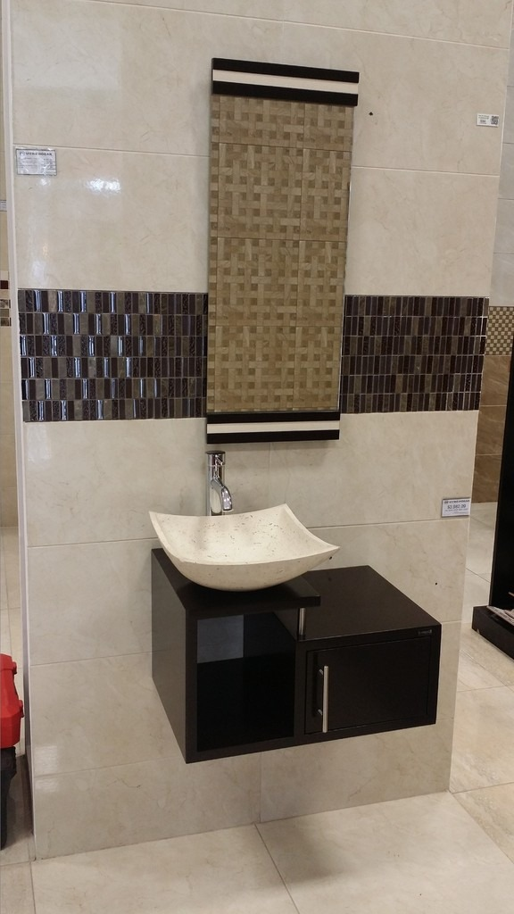 Mueble para ba o economico lavabo de marmol minimalista - Muebles de bano con lavabo ...