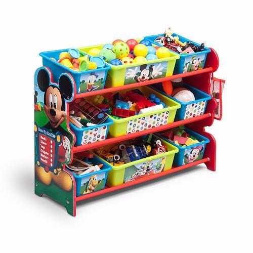 Organizador de juguetes juguetero deluxe mickey mouse - Organizador de juguetes ...