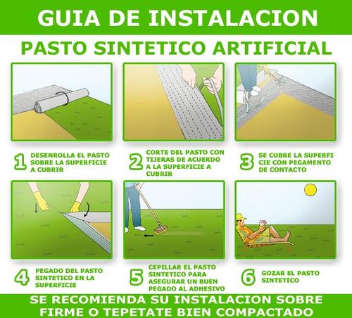 Pasto sintetico artificial para jardines landscaping 35 - Como se pone el cesped artificial ...