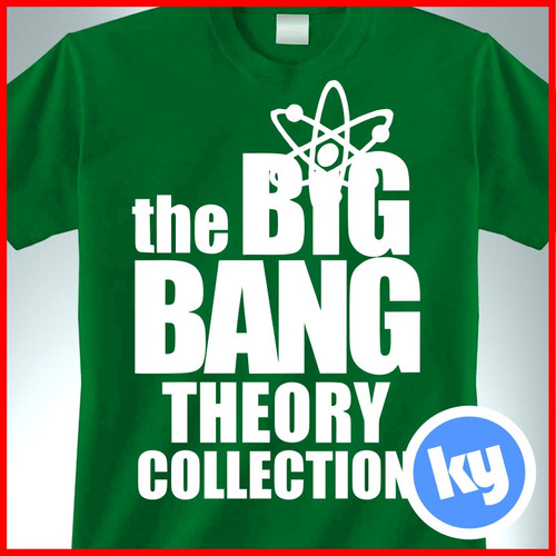 playeras series tv big bang theory, sheldon, ames, bazinga