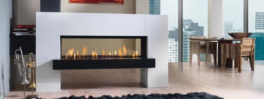 Quemador chimenea gas interior exterior contemporanea 121 - Chimenea de gas precio ...
