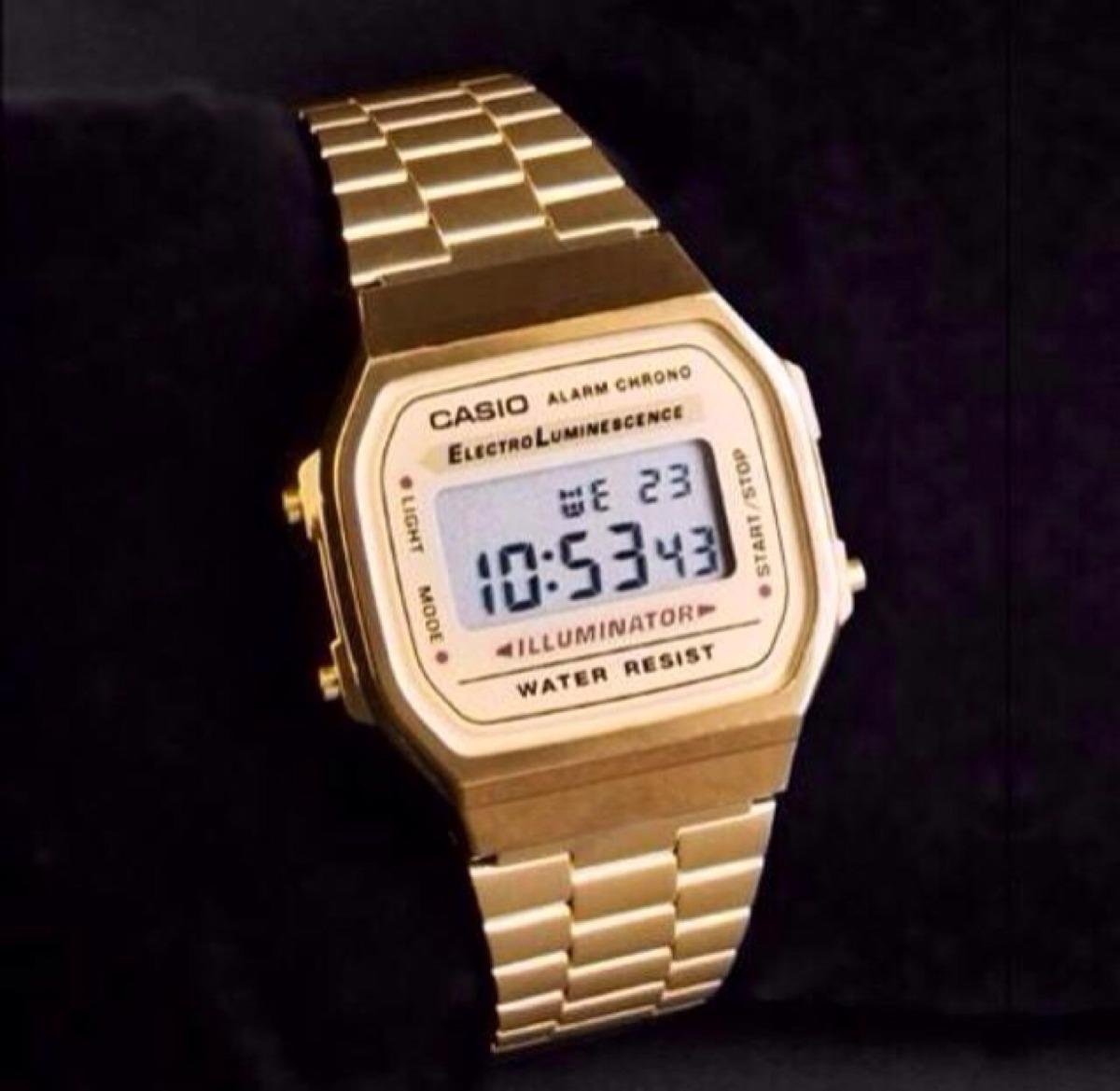 d97e384784b Reloj casio mujer dorado barato