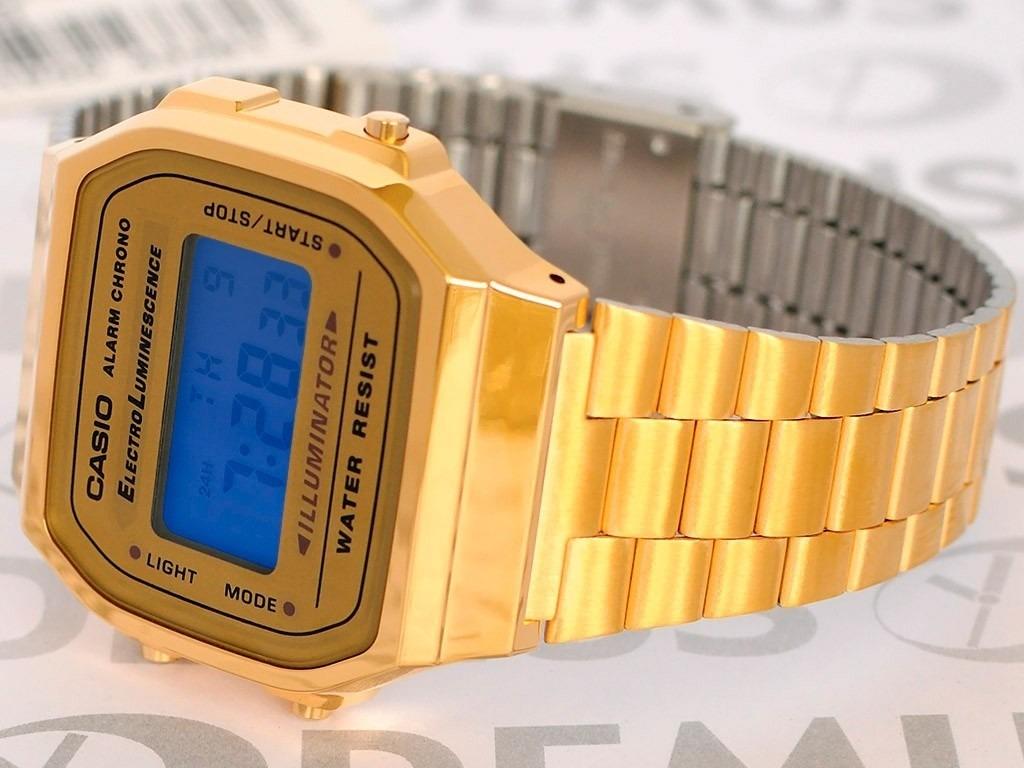 a663eafce04b reloj casio original dorado