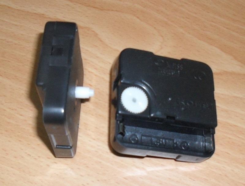 Maquinaria para reloj de pared analogo con manecillas - Comprar mecanismo reloj pared ...