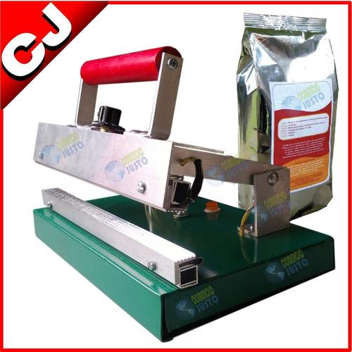 selladora especial de bolsas metalizadas multi lineas manual