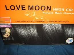 shampoo love moon negro instantáneo cubre pigmenta canas