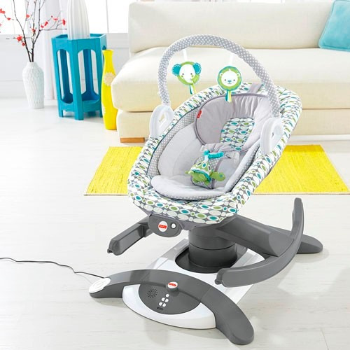 silla mecedora 4 en 1 fisher price 2 en mercado