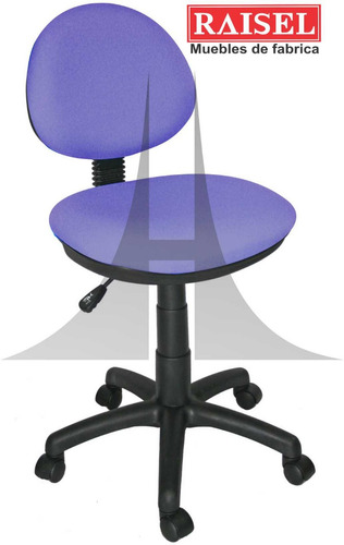 silla secretarial operativa para oficina computadora